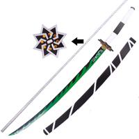 【鬼滅の刃 道具】風柱・不死川実弥 (しなずがわさねみ) 刀+鞘  コスプレ道具
