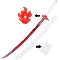 【鬼滅の刃 道具】炎柱・煉獄杏寿郎 (れんごくきょうじゅろう)  刀+鞘  コスプレ道具