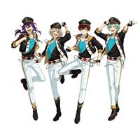 あんさんぶるスターズ!(Ensemble Stars!) あんスタ ALKALOID(アルカロイド) 全員 コスプレ衣装