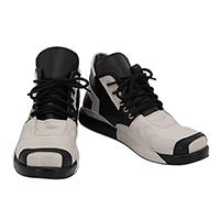 【ヒプノシスマイク ブーツ 】観音坂独歩(かんのんざか どっぽ) 新衣装  合皮  ゴム底  コスプレ靴