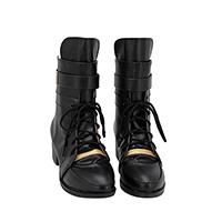 【ヒプノシスマイク ブーツ】波羅夷空却 (はらいくうこう) 合皮 ゴム底 コスプレ靴