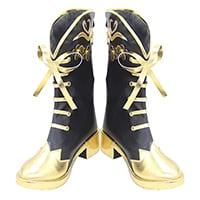【ツイステ ブーツ】ディズニー ツイステッドワンダーランド エペル・フェルミエ   合皮  ゴム底  コスプレ靴