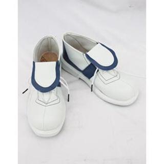 イナズマイレブン 宇都宮虎丸 ホワイトとブラック 合皮  コスプレ靴