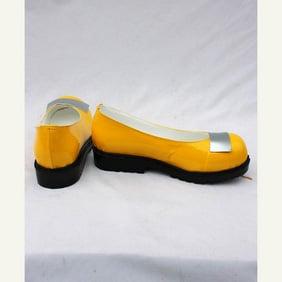 VOCALOID SeeU(シユ) 韓国 イエロー 合皮  コスプレ靴