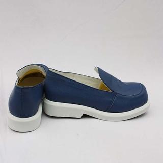 VOCALOID 雪ミク 2012 ブルー コスプレ靴