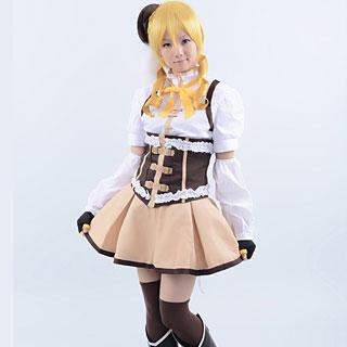 魔法少女まどか☆マギカ 巴 マミ コスプレ衣装 新版