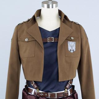 進撃の巨人  調査兵団 ベルトルト·フーバー  コスプレ衣装