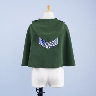 進撃の巨人  調査兵団 マント  コスプレ衣装
