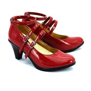 ダンガンロンパ 希望の学園と絶望の高校生 セレスティア・ルーデンベルク レッド  コスプレ靴