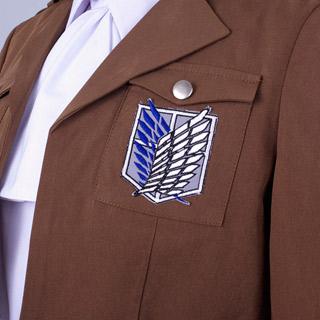 進撃の巨人 調査兵団 リヴァイ  兵長 コスプレ衣装