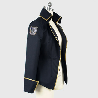 進撃の巨人 -反撃の翼- ONLINE  ミカサ 王政直属擲弾兵  コスプレ衣装