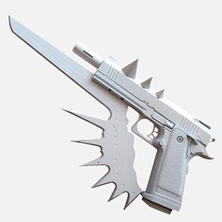 ブラック・ブレット 蛭子 影胤  銃 コス用具 武器 装備 コスプレ道具