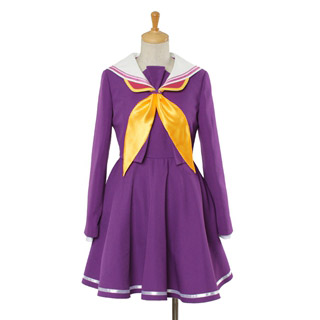 ノーゲーム・ノーライフ NO GAME NO LIFE 白 コスプレ衣装