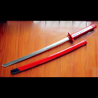 アカメが斬る!(Akame ga KILL!) アカメ 村雨  日本刀型 コス用具 木製 コスプレ道具