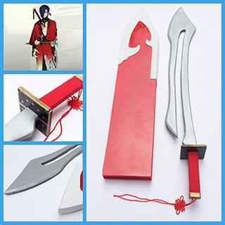 DRAMAtical Murder 紅雀 刀 剣 コス用具 武器 装備 コスプレ道具