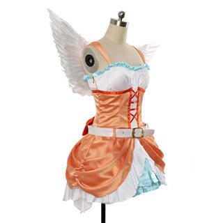 ラブライブ! 2期挿入歌シングル2「Love wing bell」「Dancing stars on me!」  小泉花陽 コスプレ衣装