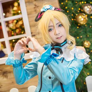 ラブライブ!  「KiRa-KiRa Sensation!」「Happy maker!」 絢瀬絵里 コスプレ衣装