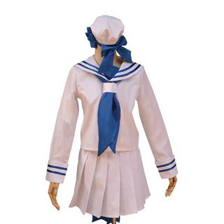 大海原と大海原 大海原(わだのはら) 白い セーラー服 コスプレ衣装
