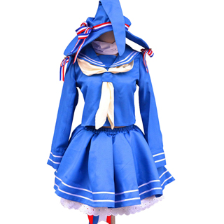 大海原と大海原 大海原(わだのはら) 青い コスプレ衣装
