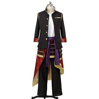 刀剣乱舞 太刀男士 大倶利伽羅 (おおくりから) 風 コスプレ衣装