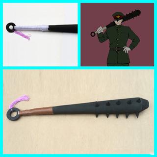獄都事変 谷裂  模造刀 コス用具 コスプレ道具