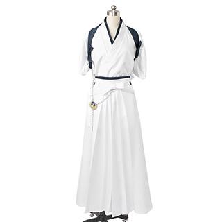 刀剣乱舞 太刀男士 鶴丸国永(つるまるくになが) 内番  風 コスプレ衣装