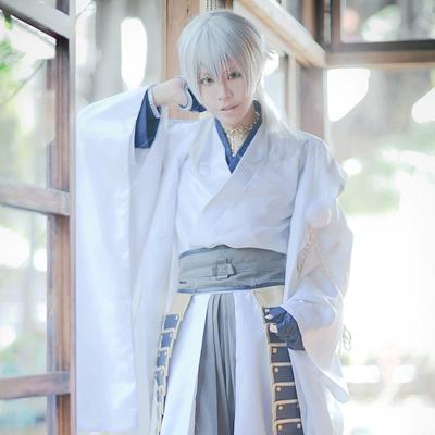 刀剣乱舞 太刀男士 鶴丸国永(つるまる くになが) 風 コスプレ衣装