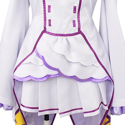 Re:ゼロから始める異世界生活  エミリア コスプレ衣装