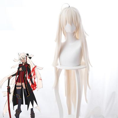 Fate/Grand Order  Saber/沖田総司   コスプレウィッグ