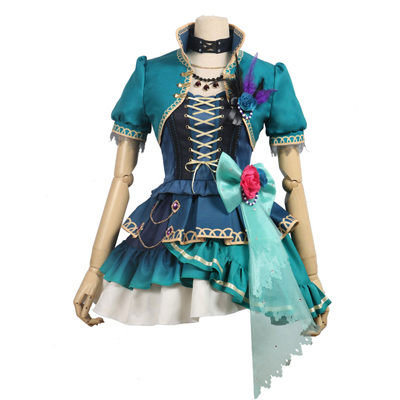 BanG Dream!(バンドリ!) 宇田川あこ(うだがわ あこ) Roselia 5th Single Opera of the wasteland  風 コスプレ衣装