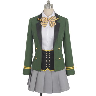 【オンエア! 衣装】On Air!  美和巴(みわ ともえ) 宝石が丘学園 1年级制服  コスプレ衣装