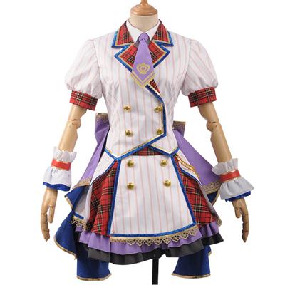 【アイドルマスター 衣装】THE IDOLM@STER 祝6周年 6th Anniversary Memorial Party 島村卯月(しまむら うづき) 風 コスプレ衣装