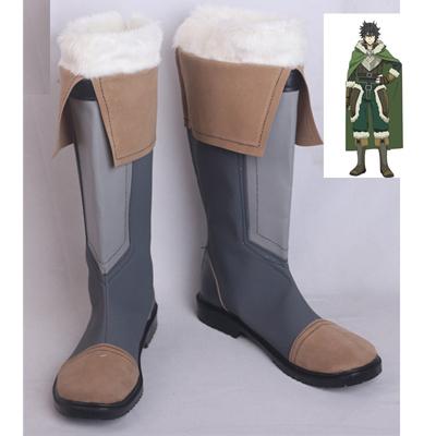 【盾の勇者の成り上がり ブーツ 】岩谷尚文    合皮 ゴム底 コスプレ靴 コスプレブーツ