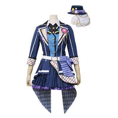 【バンドリ! 衣装】BanG Dream! 走りだそう 最高の音楽! 市ヶ谷有咲(いちがや ありさ) コスプレ衣装