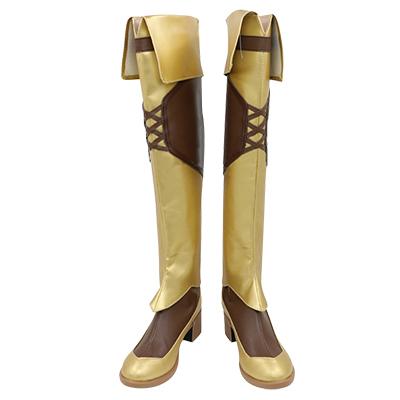 【盾の勇者の成り上がり ブーツ 】ラフタリア  合皮 ゴム底 コスプレ靴 コスプレブーツ