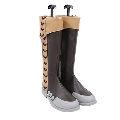 【盾の勇者の成り上がり ブーツ 】川澄樹   合皮 ゴム底 コスプレ靴 コスプレブーツ