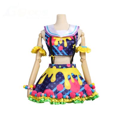 【バンドリ! 衣装】BanG Dream! Poppin'Party New_Costumes  市ヶ谷有咲(いちがや ありさ) 風 コスプレ衣装