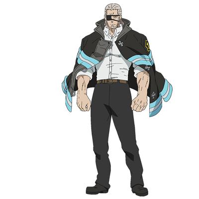 ◆5点限定・予約商品◆ 炎炎ノ消防隊  レオナルド・バーンズ  コスプレ衣装