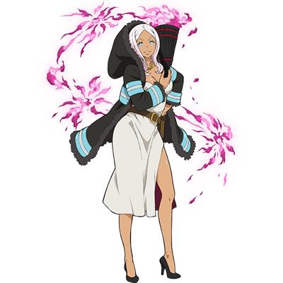 ◆5点限定・予約商品◆ 炎炎ノ消防隊  プリンセス火華   コスプレ衣装