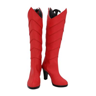 【転生したらスライムだった件 ブーツ 】ミリム・ナーヴァ  風 コスプレ靴  風 コスプレブーツ