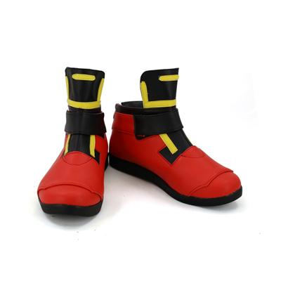 【コンパス 戦闘摂理解析システム ブーツ 】輝龍院きらら (きりゅういんきらら)  合皮 ゴム底 コスプレ靴 コスプレブーツ
