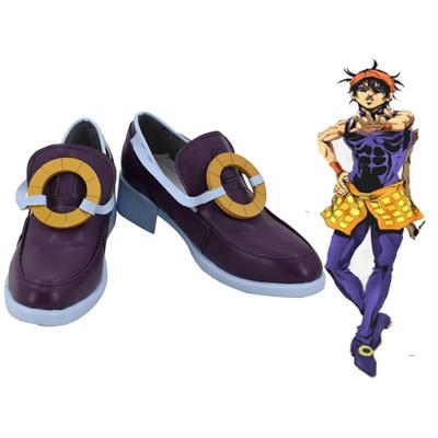 【ジョジョの奇妙な冒険 ブーツ 】黄金の風  ナランチャ・ギルガ  風 コスプレ靴  風 コスプレブーツ