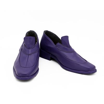 【ジョジョの奇妙な冒険 ブーツ 】黄金の風  レオーネ・アバッキオ  合皮 ゴム底 コスプレ靴 コスプレブーツ
