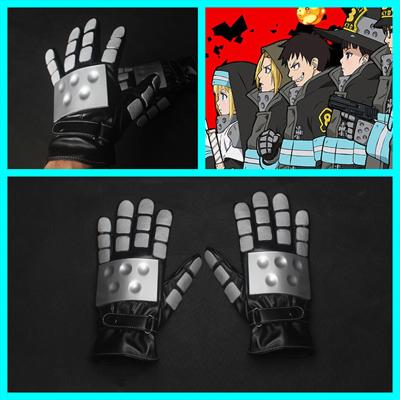 【炎炎ノ消防隊 道具】 アーサー・ボイル  手袋 コスプレ道具