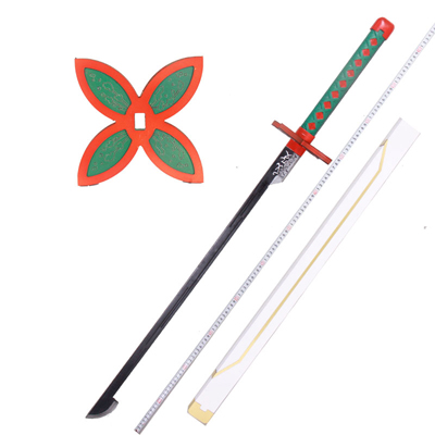 【鬼滅の刃 道具】胡蝶しのぶ(こちょう しのぶ) 刀+鞘 コスプレ道具ver.2