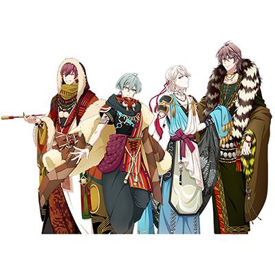 ◆10点限定・予約商品◆ IDOLiSH 7 アイドリッシュセブン  妖万華鏡  空虚咎送り 獣憑き 全員 コスプレ衣装 予約開始!