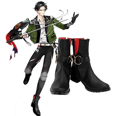 【刀剣乱舞 ブーツ 】豊前江(ぶぜんごう)      風 コスプレ靴