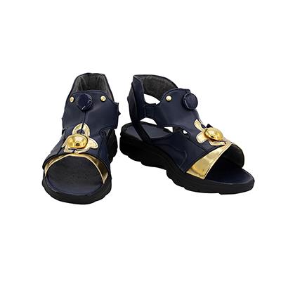 【ツイステ ブーツ】ディズニー ツイステッドワンダーランド カリム・アルアジーム  合皮 ゴム底 コスプレ靴
