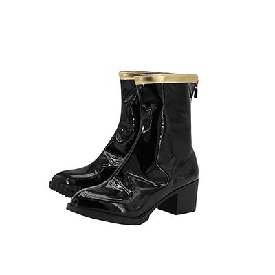 【ヒプノシスマイク ブーツ 】碧棺合歓(あおひつぎ ねむ)    風 コスプレ靴