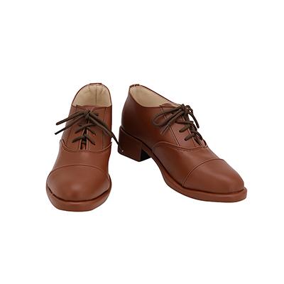 【ヒプノシスマイク ブーツ】 躑躅森盧笙(つつじもり ろしょう)合皮 ゴム底 コスプレ靴